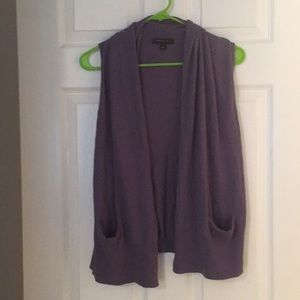 Banana Republic sleeveless cardigan